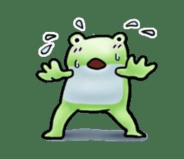 Sticker of the frog 2 sticker #5284656