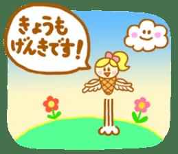 A kawaii Ice-Angel sticker #5297844