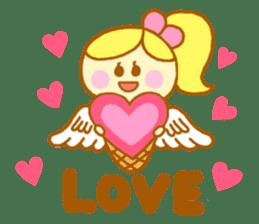 A kawaii Ice-Angel sticker #5297845