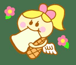 A kawaii Ice-Angel sticker #5297846