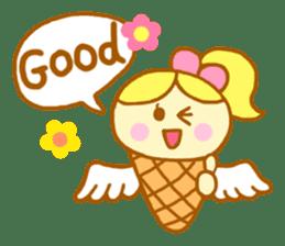 A kawaii Ice-Angel sticker #5297848