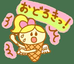 A kawaii Ice-Angel sticker #5297849