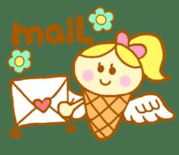 A kawaii Ice-Angel sticker #5297850