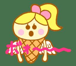 A kawaii Ice-Angel sticker #5297851