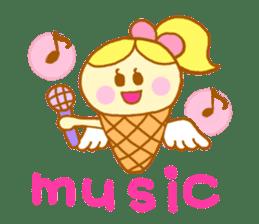 A kawaii Ice-Angel sticker #5297856