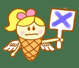 A kawaii Ice-Angel sticker #5297858