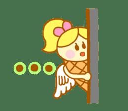 A kawaii Ice-Angel sticker #5297859