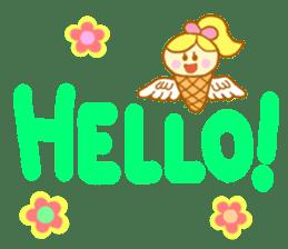 A kawaii Ice-Angel sticker #5297866
