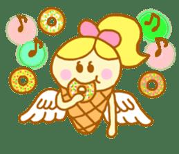 A kawaii Ice-Angel sticker #5297867