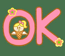 A kawaii Ice-Angel sticker #5297870