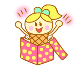 A kawaii Ice-Angel sticker #5297873