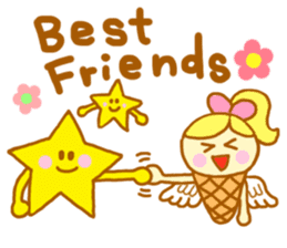 A kawaii Ice-Angel sticker #5297877