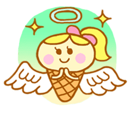 A kawaii Ice-Angel sticker #5297880