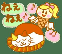 A kawaii Ice-Angel sticker #5297882
