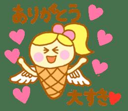 A kawaii Ice-Angel sticker #5297883