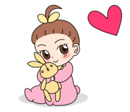 Baby Couple sticker #5298453