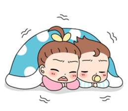 Baby Couple sticker #5298456