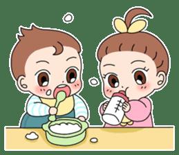 Baby Couple sticker #5298458