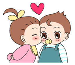 Baby Couple sticker #5298464