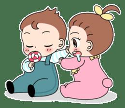 Baby Couple sticker #5298469
