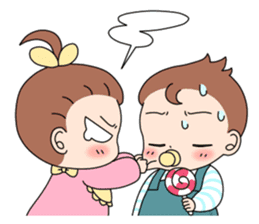 Baby Couple sticker #5298470