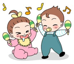 Baby Couple sticker #5298471