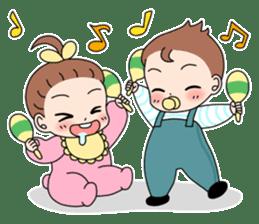 Baby Couple sticker #5298471