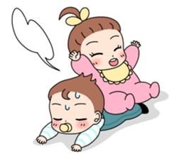 Baby Couple sticker #5298472