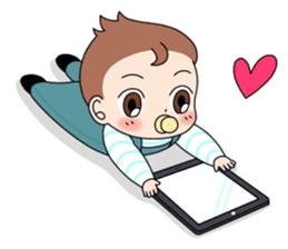 Baby Couple sticker #5298474