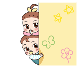 Baby Couple sticker #5298477