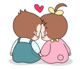 Baby Couple sticker #5298479