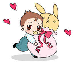 Baby Couple sticker #5298480