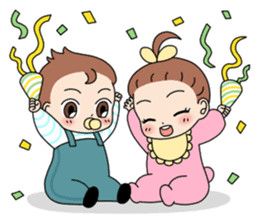 Baby Couple sticker #5298482