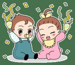 Baby Couple sticker #5298482