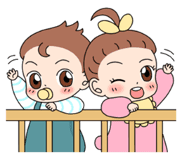 Baby Couple sticker #5298483