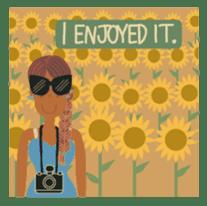 Ms. Sunburn sticker #5311415