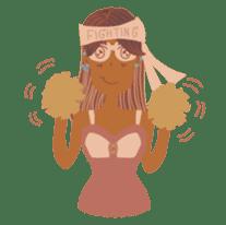 Ms. Sunburn sticker #5311417