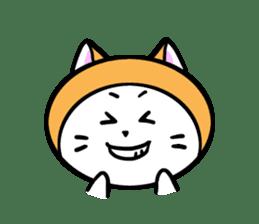It is Goro of my cat. sticker #5312677