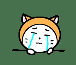 It is Goro of my cat. sticker #5312684