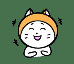 It is Goro of my cat. sticker #5312686