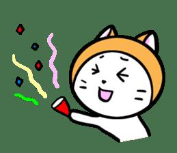 It is Goro of my cat. sticker #5312692