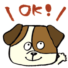 Daily life of dogs sticker #5314916