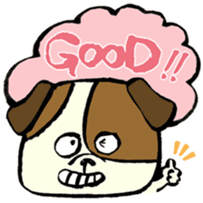 Daily life of dogs sticker #5314917