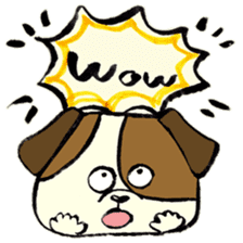 Daily life of dogs sticker #5314919