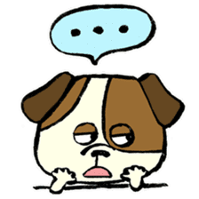 Daily life of dogs sticker #5314920