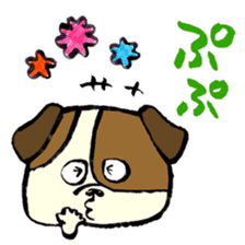 Daily life of dogs sticker #5314921