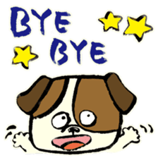 Daily life of dogs sticker #5314922