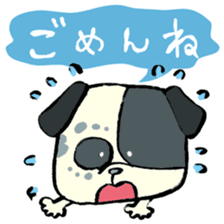 Daily life of dogs sticker #5314928