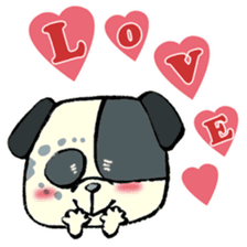 Daily life of dogs sticker #5314929