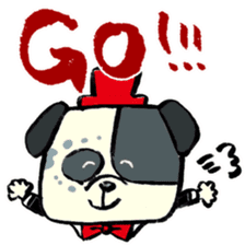 Daily life of dogs sticker #5314930